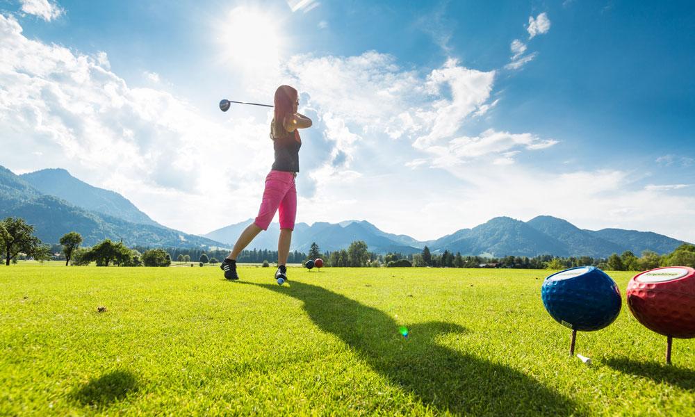 Aktivurlaub-Bayern-Golf